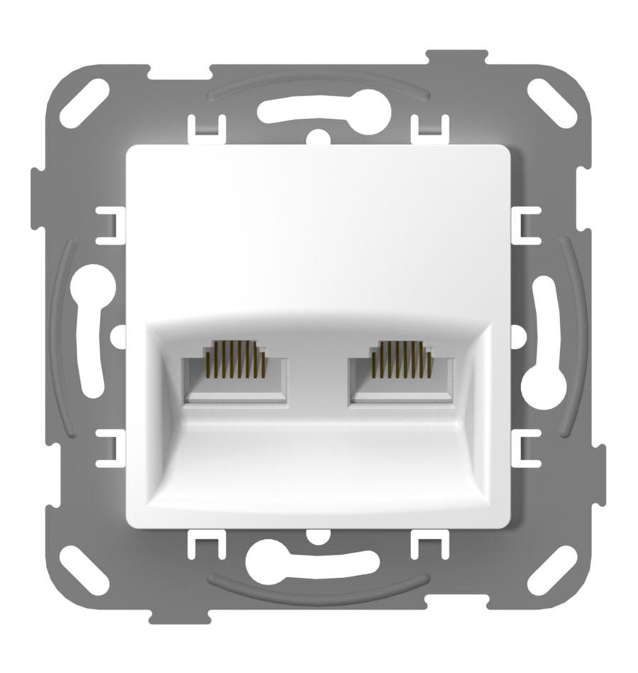 Комп'ютерна розетка подвійна image