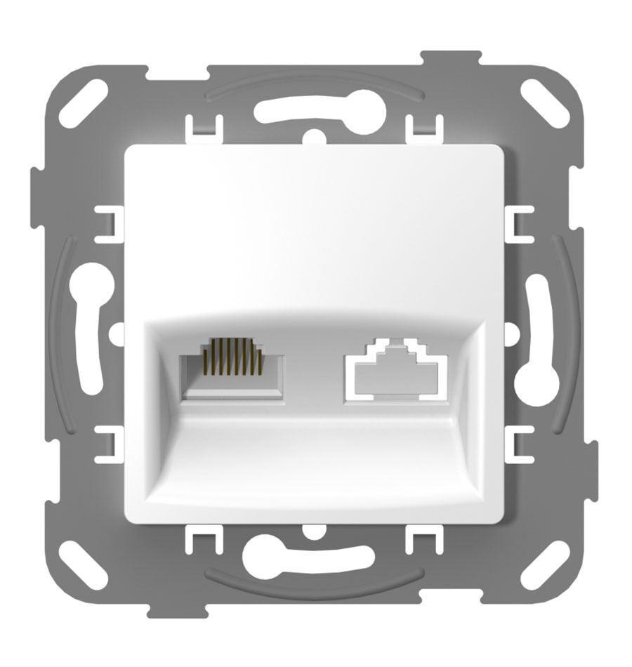 Комп'ютерна розетка одинарна image