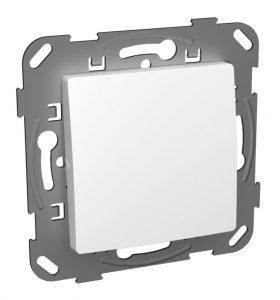 Кнопка-вимикач без фіксації одноклавішна з метелевим супортом