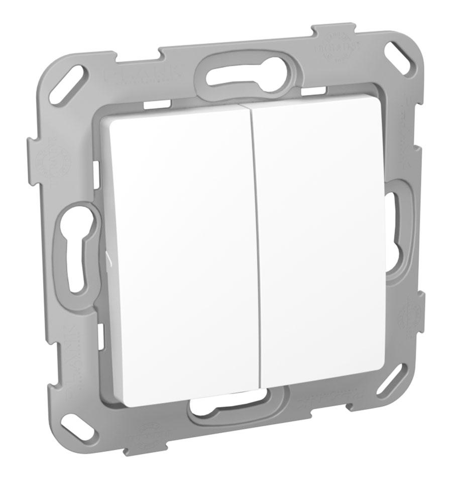 Кнопка-вимикач без фіксації двоклавішна image