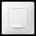 Classic серія розетка з кришкою з рамкою білого кольору