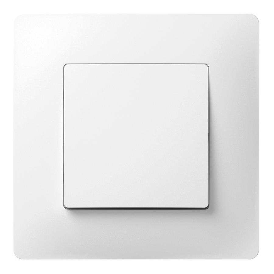 Вимикач одноклавішний з металевим супортом image