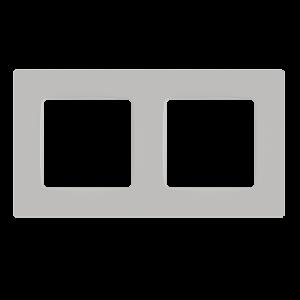 Рамка двохмісна, серія NORDIC