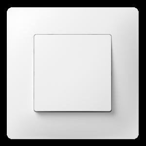 Перемикач прохідний одноклавішний з композитним супортом