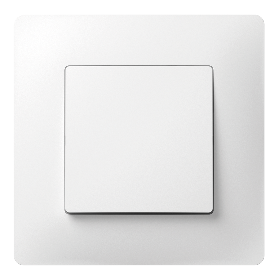 Перемикач прохідний одноклавішний з композитним супортом image