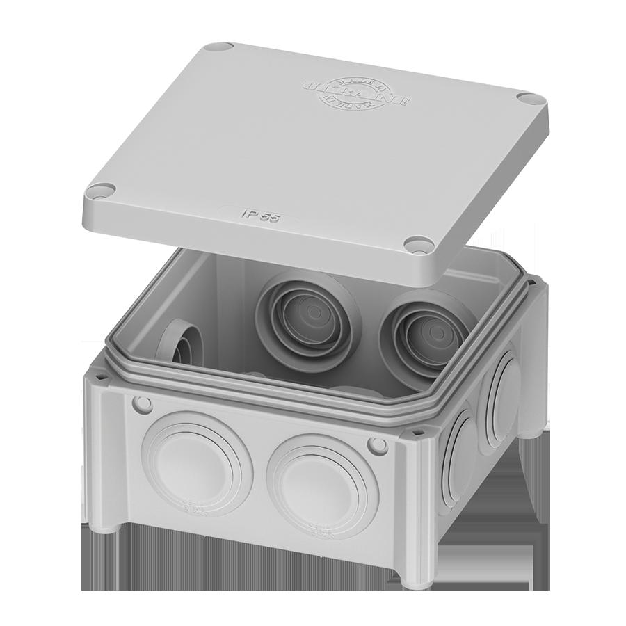 IB005 –  розподільчий бокс IP65 – 85x85x40 відкритого монтажу image