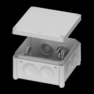IB006 – розподільчий бокс IP65 – 100x100x50 відкритого монтажу