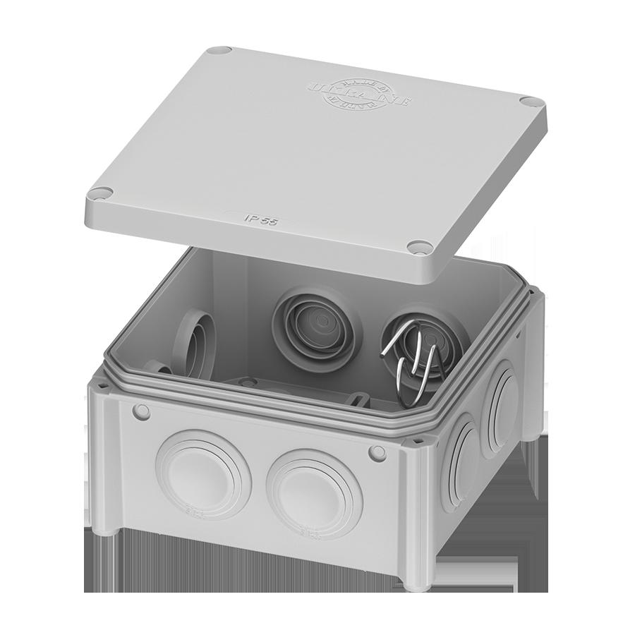 IB006 – розподільчий бокс 100x100x50 відкритого монтажу image
