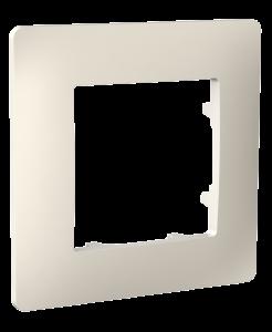 Рамка одномісна, серія CLASSIC, слонова кістка