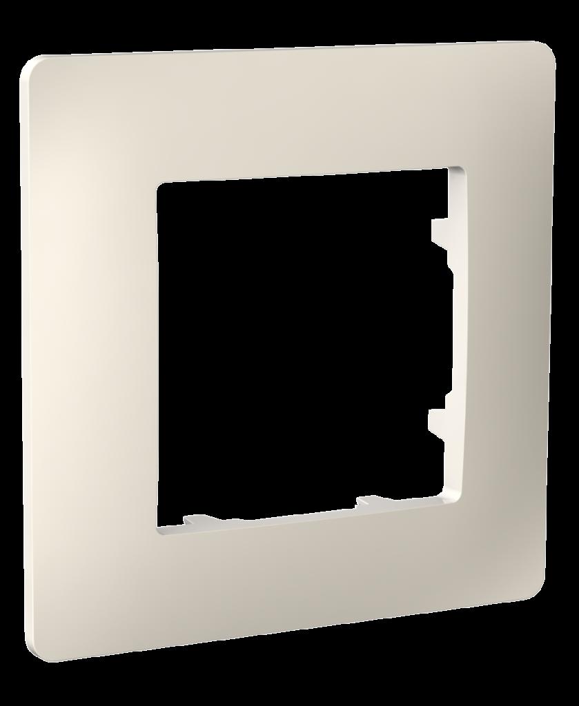 Рамка одномісна, серія CLASSIC, слонова кістка image