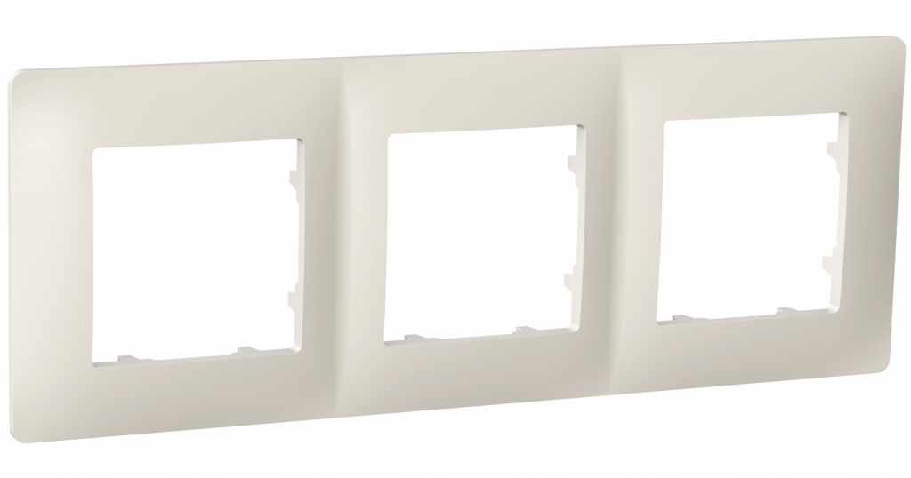 Рамка тримісна, серія CLASSIC, слонова кістка image