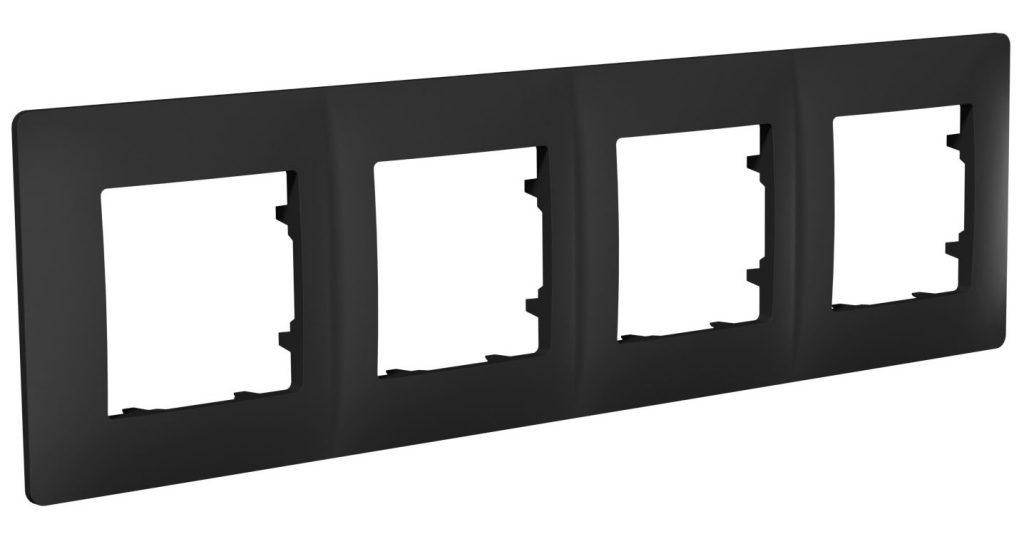 Рамка чотиримісна, серія CLASSIC, антрацит image