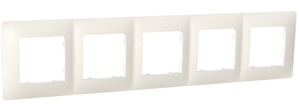 Рамка п'ятимісна, серія CLASSIC, слонова кістка image