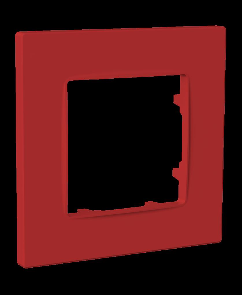 Рамка одномісна, серія NORDIC, бордо image