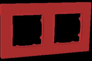 Рамка двомісна, серія NORDIC, бордо