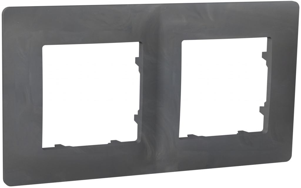 Рамка двомісна, серія CLASSIC, базальт image