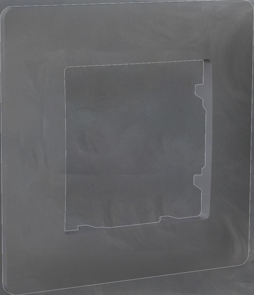 Рамка одномісна, серія CLASSIC, базальт image