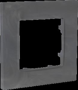 Рамка одномісна, серія NORDIC, базальт